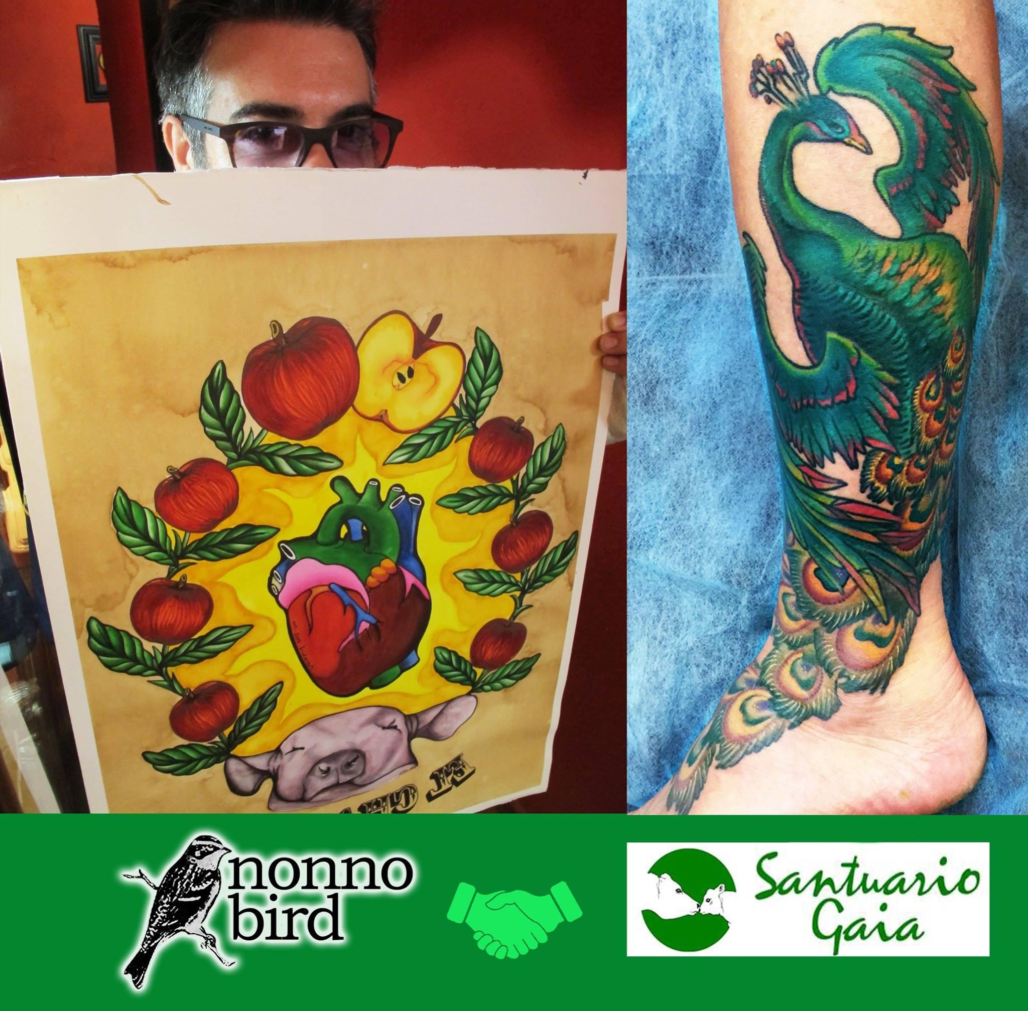 tatuaje nonno bird